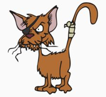 Fighting cat clip art cat Kids Tee