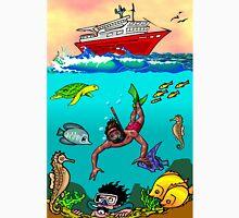 Diver Cartoon Unisex T-Shirt