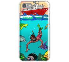 Diver Cartoon iPhone Case/Skin