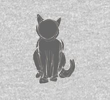 Black cat clip art Unisex T-Shirt