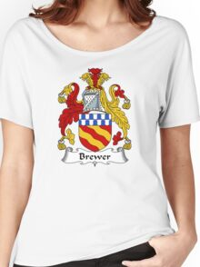 Brewer Coat of Arms / Brewer Family Crest Women's Relaxed Fit T-Shirt
