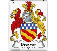 Brewer Coat of Arms / Brewer Family Crest iPad Case/Skin