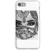 Arab woman portrait  iPhone Case/Skin