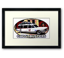 Ghostbusters - Ecto-1 Framed Print