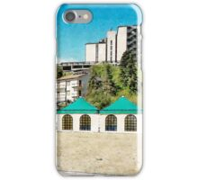 L'Aquila: view with container iPhone Case/Skin