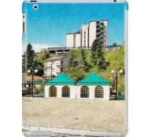 L'Aquila: view with container iPad Case/Skin