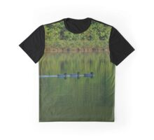 Ducks Through Sunlit Water Graphic T-Shirt