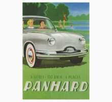Fifties classic car Panhard from France  Baby Tee