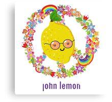 John Lemon Canvas Print