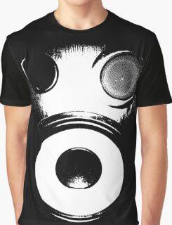 Bass Face Gas Mask Graphic T-Shirt