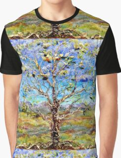 Herald, acrylic and mixed media painting Graphic T-Shirt