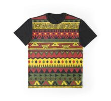 Rasta Way Pattern Graphic T-Shirt