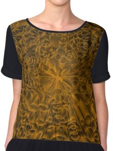 Gold rush Chiffon Top