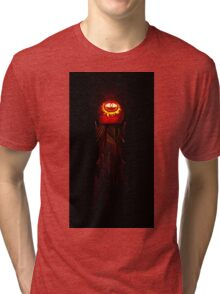The Jack O'Lantern of Barad-dûr Tri-blend T-Shirt