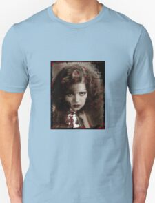 Clara in Red Lace Unisex T-Shirt