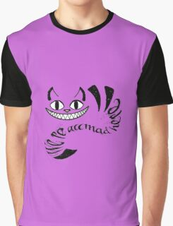 Cheshire Cat - We're all mad here Graphic T-Shirt