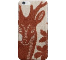 deer wool blanket iPhone Case/Skin