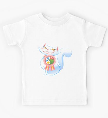 Social cat Kids Tee