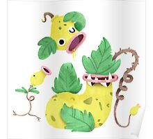 Bellsprout Weepinbell Victreebell Poster
