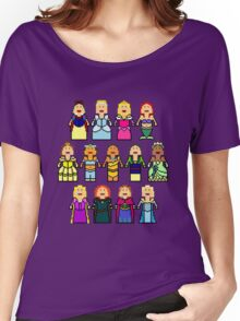 8-Bit Princesses Women's Relaxed Fit T-Shirt