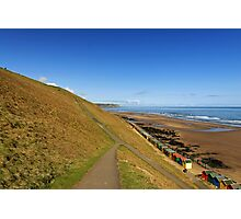 Along The West Cliff, Whitby Photographic Print