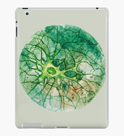 Neuron - Watercoulor - New Colour!! iPad Case/Skin