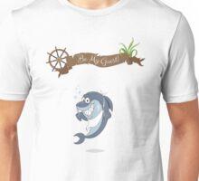 Cartoon Shark Unisex T-Shirt