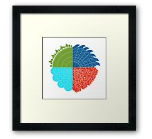 The 4 Elements Framed Print