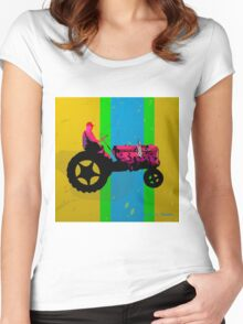 The Tractor Women's Fitted Scoop T-Shirt
