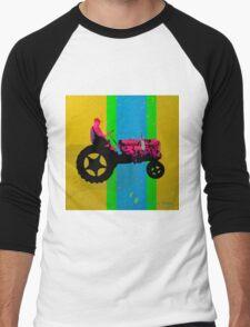 The Tractor Men's Baseball ¾ T-Shirt