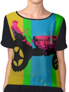 The Tractor Chiffon Top