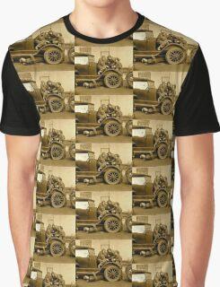 Four Girl Mechanics WWI era Graphic T-Shirt