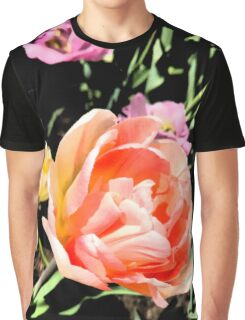 Tulips in the Sunlight Graphic T-Shirt