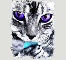 Purple eyes Cat Unisex T-Shirt