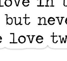 Quote 1 Great Gatsby Sticker