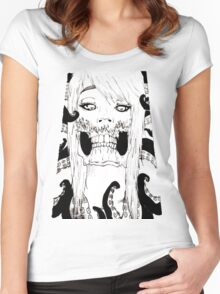 hydra cakes Women's Fitted Scoop T-Shirt