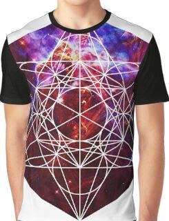 Fest Mystic | Metatron Sacred Geometry Sticker Graphic T-Shirt