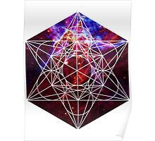 Fest Mystic | Metatron Sacred Geometry Sticker Poster