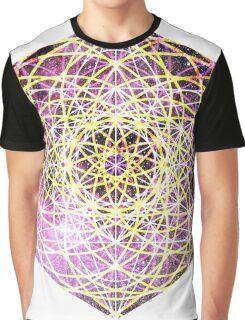 Scorpius Pink | Metatron Sacred Geometry Sticker Graphic T-Shirt