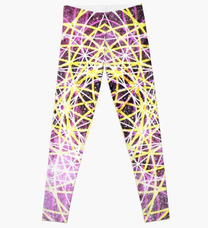 Scorpius Pink   Metatron Sacred Geometry Sticker Leggings