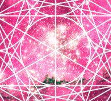 Magellan Red | Metatron Sacred Geometry Sticker Sticker