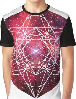 Scorpius Red | Metatron Sacred Geometry Sticker Graphic T-Shirt