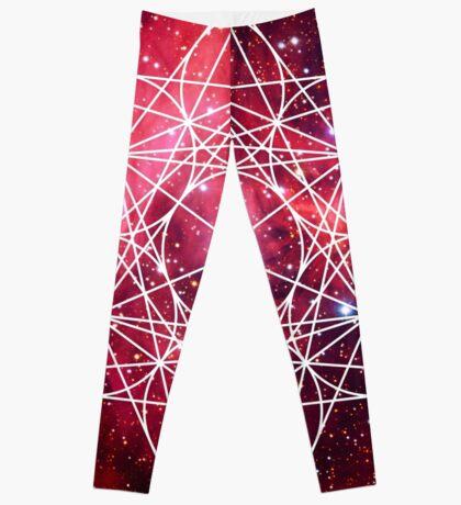 Scorpius Red   Metatron Sacred Geometry Sticker Leggings