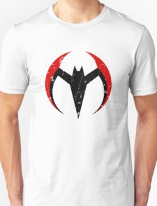 Batman Beyond - Batarang Distressed Unisex T-Shirt