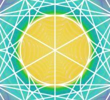 Eye of 24   Metatron Sacred Geometry Sticker Sticker
