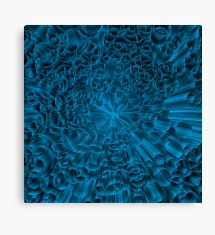 Blue colorful Canvas Print