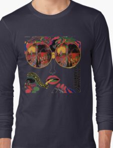 Psychedelic Art - Sixties - Jefferson Airplane Long Sleeve T-Shirt