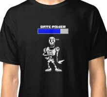 Undertale - Papyrus's Date Power Classic T-Shirt