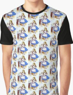 Alice and the Drink Me Potion Graphic T-Shirt