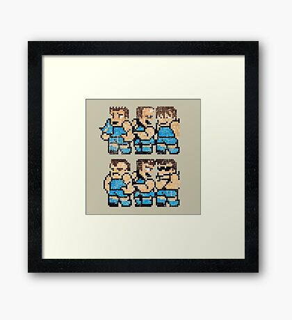 World Cup Soccer Team Framed Print
